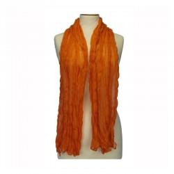 Foulard Viscose Orange Ehrsam