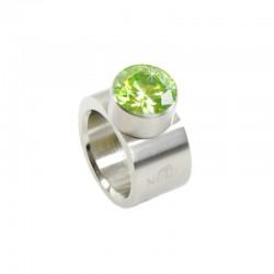 Chromstahl Ring Lime MelanO