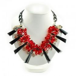 Halskette Rot Schwarz Sweet Deluxe