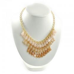 Halskette Gold Braun Sweet Deluxe