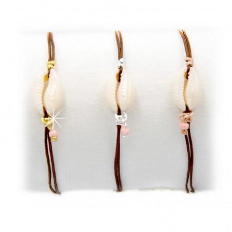 Armband Muscheln Gold Silber Rotgold Mint15