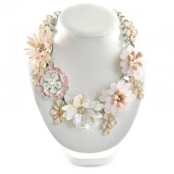 Halskette Collier Blumen Pastell Sweet Deluxe