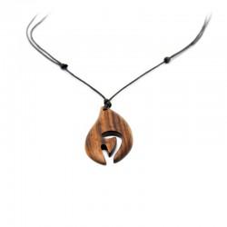 Halsband Holzanhänger DFBIJOUX