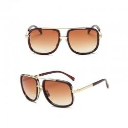 Sonnenbrille Retro Braun DreamFactorJ