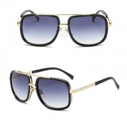 Sonnenbrille Retro Grau DFBIJOUX