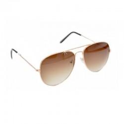 Sonnenbrille polarisiert Gold Braun DFBIJOUX