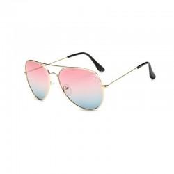Sonnenbrille polarisierte Pink Blau DFBIJOUX
