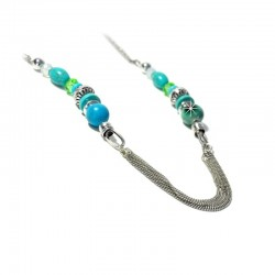 Halskette Türkis Blau Ehrsam