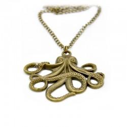 Halskette Octopus Bronze DreamFactorJ