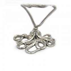Halskette Ostopus Silber DFBIJOUX